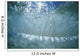 Hawaii, Sunlight Glistening Through A Wave Curl From Underwater Wall Mural