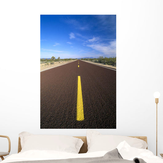 Endless Straight Road B1618 Wall Mural