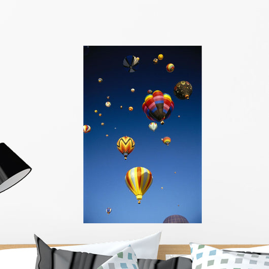 California, Laguna, Hot Air Balloons In Flight, B1242 Wall Mural
