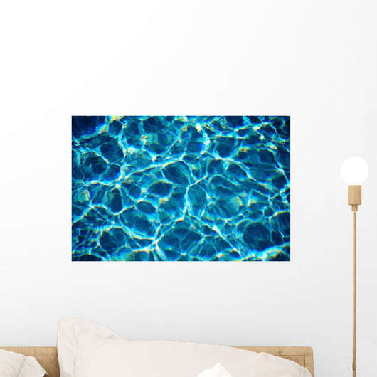 Water Reflections And Patterns B1444 Wall Mural