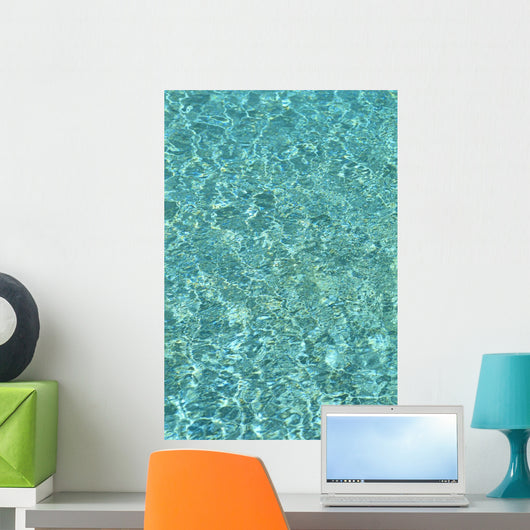 Turquoise Water Reflections B1459 Wall Mural