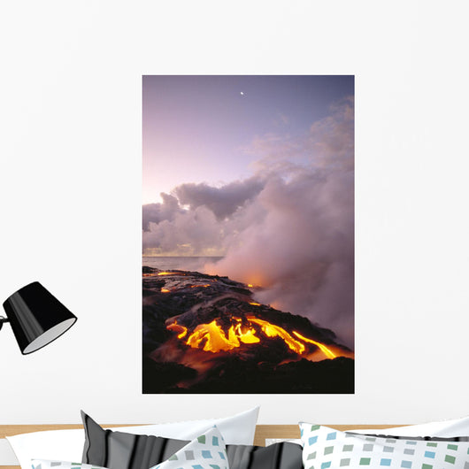 Smoky Skies Wall Mural