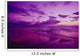 Hawaii, Maui, Kihei, Sunset, Purple Sky, Shoreline At Kamaole Beach Wall Mural