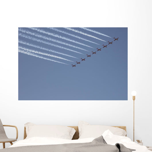 Snowbirds Flying In Formation, Cne, Toronto, Ontario Wall Mural