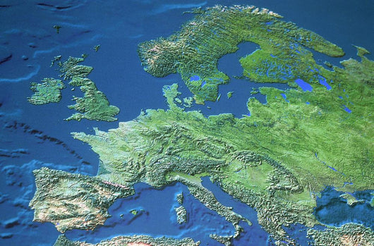 Map Of Europe Wall Mural