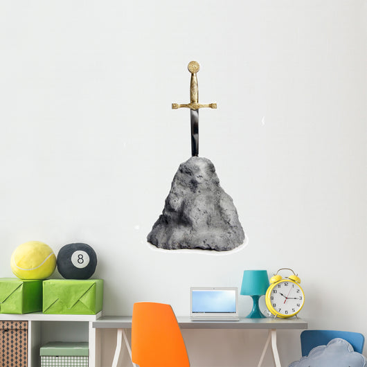 The Sword in the Stone Wall Decal