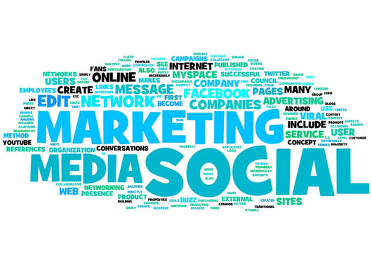 Marketing Social Media Wall Decal – WallMonkeys com