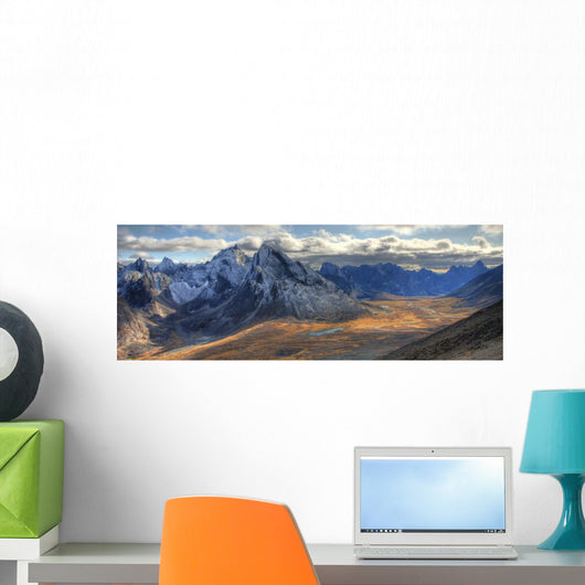 Tombstone Pass With Mt Monolith And Tombstone Mountains, Yukon Wall Mural