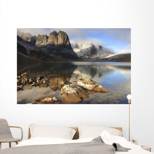 Sunrise At Divide Lake, Tombstone Territorial Park, Yukon Wall Mural