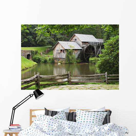 Mabry Mill, Blue Ridge Parkway National Park, Virginia Wall Mural