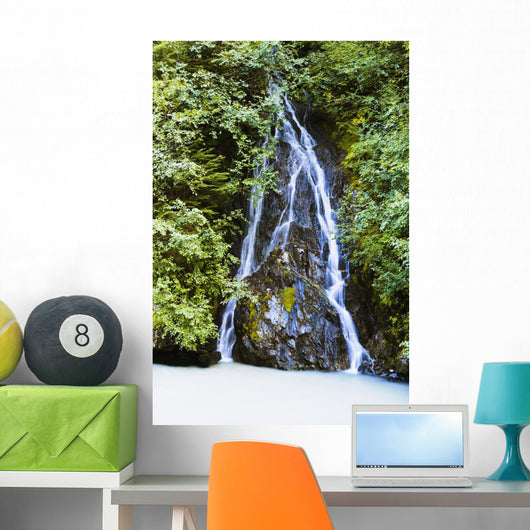 Falls Close To Highway 37A, Northern British Columbia Wall Mural