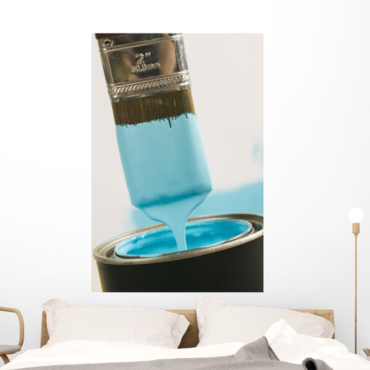 Small Paint Brush Dipped In Paint, Canada, British Columbia Wall Mural