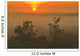 Sunrise Over The Great Sandhills, Near Sceptre, Saskatchewan Wall Mural