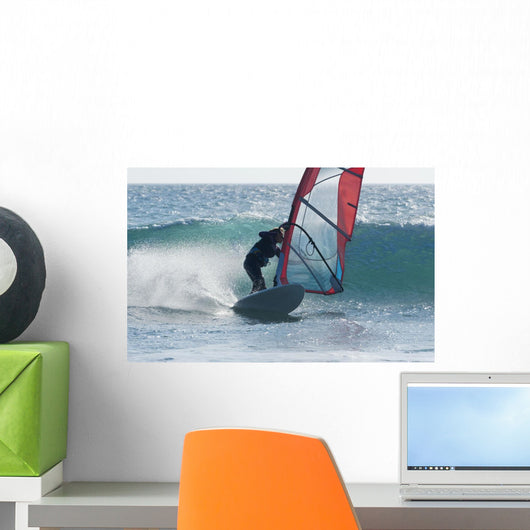 Windsurfing Wall Mural