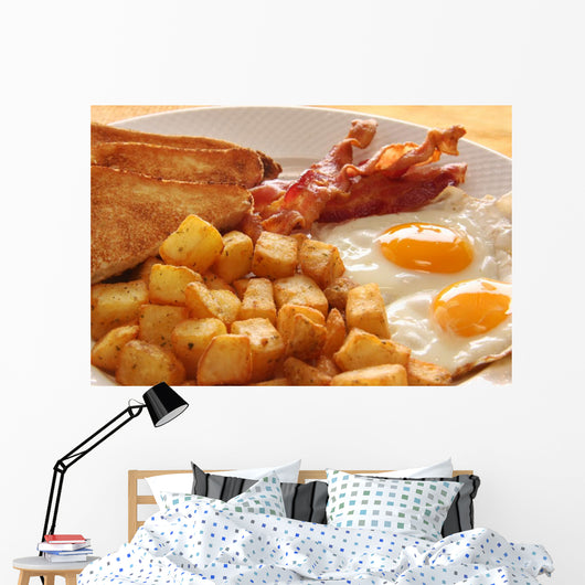 Breakfast Eggs Wall Mural