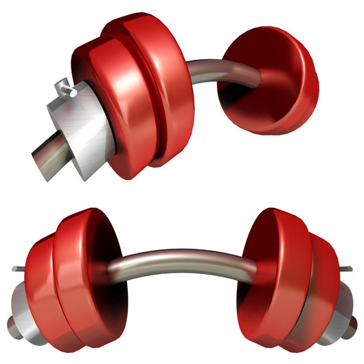 Dumbbell Wall Decal