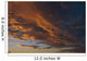 Cloud Patterns At Sunset Sc Alaska Wall Mural