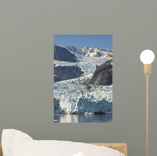 Scenic View Of Stairway Glacier Wall Mural