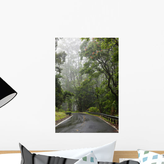 Hawaii, Maui, The lush Road To Hana Wall Mural
