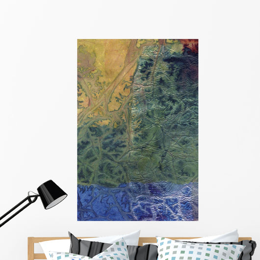 Rhapsody of Colors 58, Abstract art Wall Mural