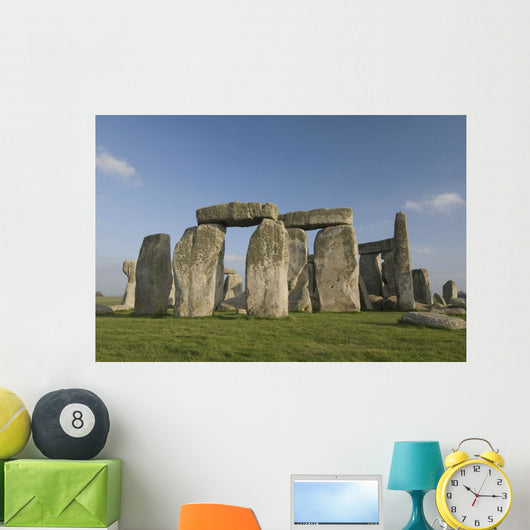 United Kingdom, England, The infamous Stonehenge structures Wall Mural