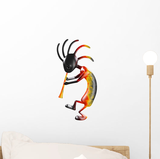 Kokopelli with Flute Wall Decal