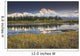 The North Face And Peak Of Mt Mckinley Is Reflected Wall Mural