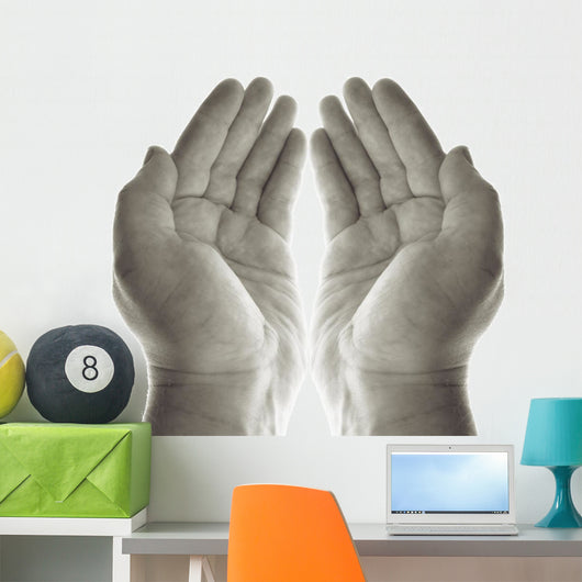Hands Prayer Wall Decal