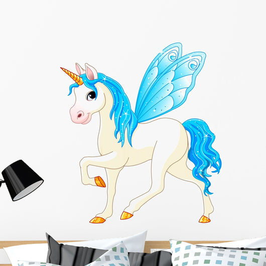 Fairy Tail Blue Horse Wall Decal