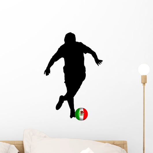 Football Mexican Player Wall Mural