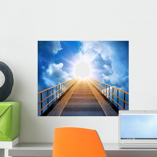 Road to light Wall Mural