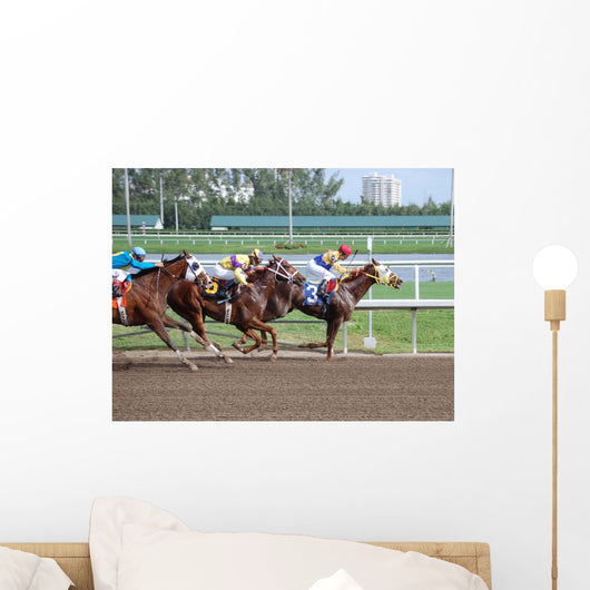 Gulfstream Racing Wall Mural