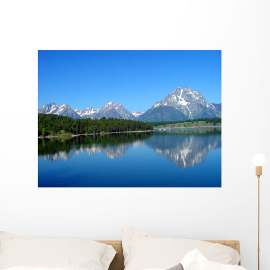 Grand Tetons Mountains Wall Mural