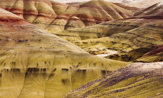 painted hills Wall Mural