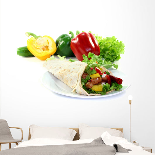 Wrap Wall Decal