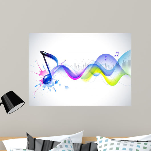 Music background Wall Mural