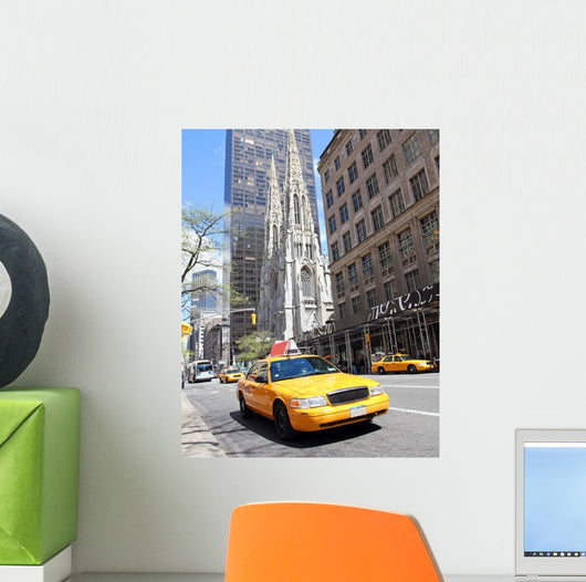 New york street scene Wall Mural
