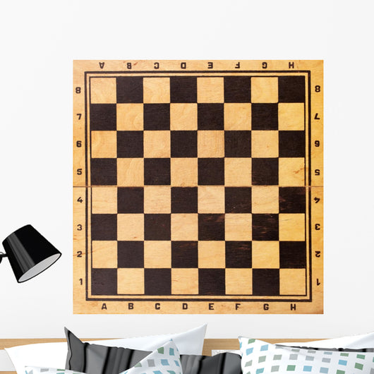 Old Chessboard Wall Mural