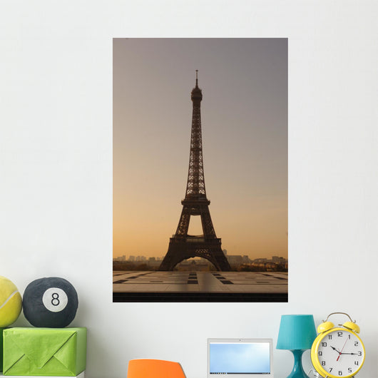 Paris Eiffel Tower Dawn Wall Mural