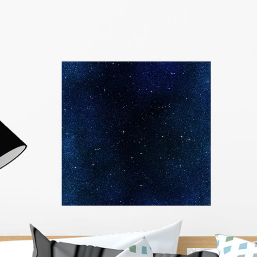 stars in space or night sky Wall Mural