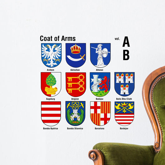 coat of arms ( ab ) Wall Decal