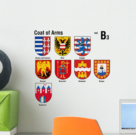 Coat of Arms ( B3 ) Wall Decal