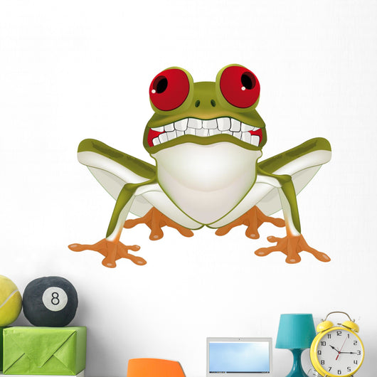 Smiling Frog with Teeth