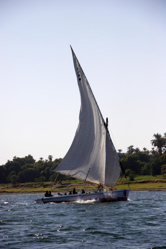 Traditional Felucca River Nile