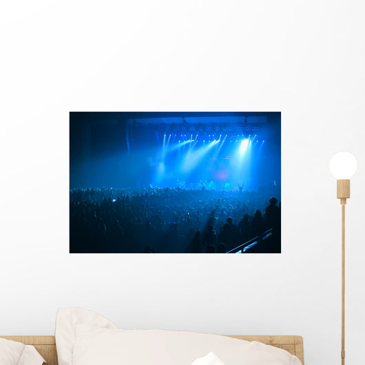 Glowing Concert Hall Wall Mural