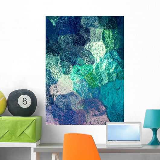 Glass abstract background Wall Mural