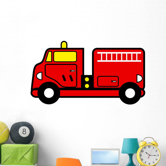 fire engine toy Wall Mural