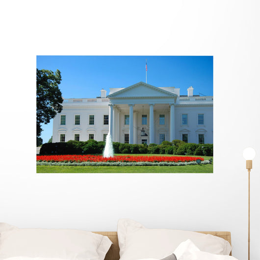 The White House in Washington DC Wall Mural