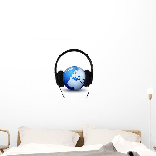 World Is Listening Wall Mural