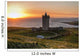 Doonagore Castle at Sunset Wall Mural